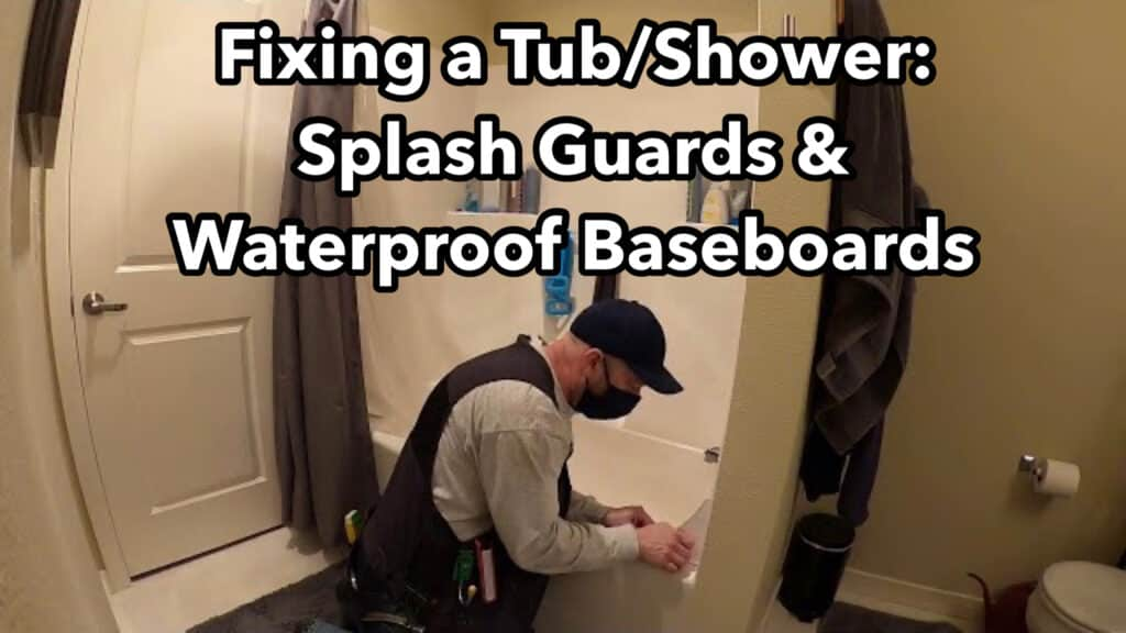 Fixing a tub shower
